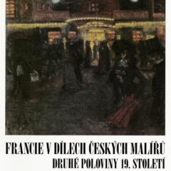 18_Francie v dílech českých malířů druhé pol. 19. století